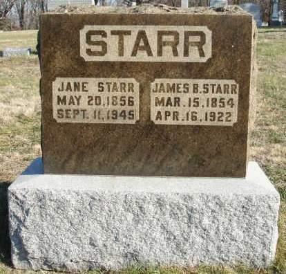 STARR, MARY JANE