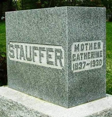 STAUFFER, CATHERINE - Madison County, Iowa   CATHERINE STAUFFER