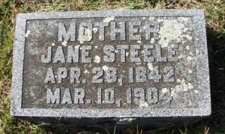 STEELE, JANE IRENE - Madison County, Iowa | JANE IRENE STEELE