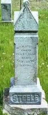 STEELE, WILLIAM HENRY - Madison County, Iowa   WILLIAM HENRY STEELE