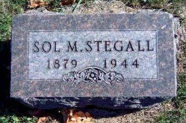 STEGALL, SOLOMON MENDER - Madison County, Iowa | SOLOMON MENDER STEGALL