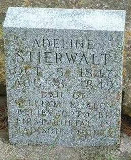 STIERWALT, ADELINE - Madison County, Iowa | ADELINE STIERWALT
