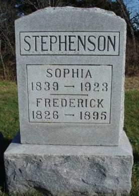 STEPHENSON, SOPHIA ELIZABETH - Madison County, Iowa | SOPHIA ELIZABETH STEPHENSON