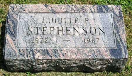 STEPHENSON, LUCILLE F. - Madison County, Iowa | LUCILLE F. STEPHENSON