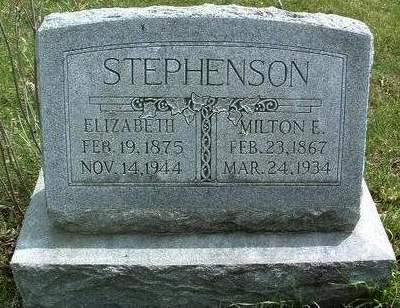 STEPHENSON, MILTON E. - Madison County, Iowa | MILTON E. STEPHENSON