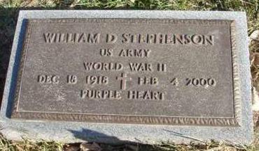STEPHENSON, WILLIAM DAVID - Madison County, Iowa | WILLIAM DAVID STEPHENSON