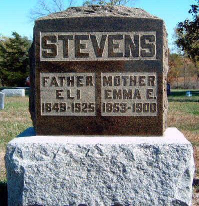 STEVENS, EMMA EVALINE - Madison County, Iowa   EMMA EVALINE STEVENS