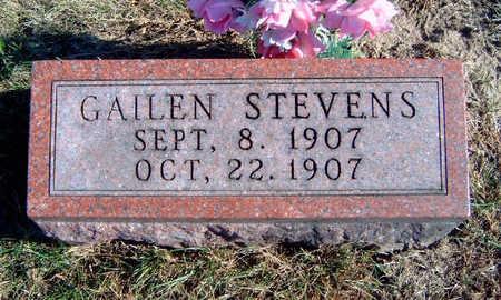STEVENS, GAILEN - Madison County, Iowa | GAILEN STEVENS
