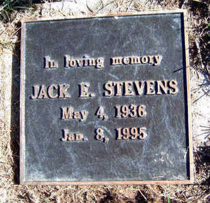 STEVENS, JACK E. - Madison County, Iowa | JACK E. STEVENS