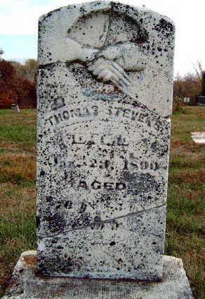 STEVENS, THOMAS - Madison County, Iowa | THOMAS STEVENS