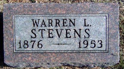 STEVENS, WARREN LAFAYETTE - Madison County, Iowa | WARREN LAFAYETTE STEVENS