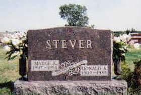 STEVER, DONALD ALVIN - Madison County, Iowa | DONALD ALVIN STEVER