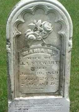 STEWART, MARIA M. - Madison County, Iowa | MARIA M. STEWART