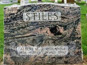 STILES, ALBERT M. - Madison County, Iowa | ALBERT M. STILES