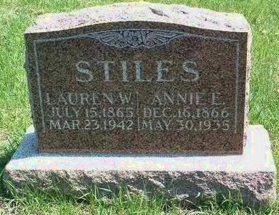 STILES, ELIZABETH ANNA (ANNIE) - Madison County, Iowa | ELIZABETH ANNA (ANNIE) STILES