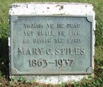 STILES, MARY C. - Madison County, Iowa | MARY C. STILES