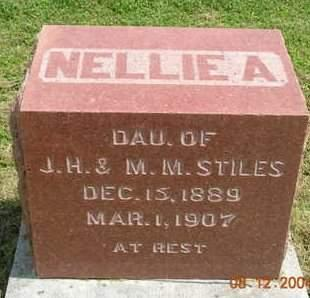 STILES, NELLIE A. - Madison County, Iowa | NELLIE A. STILES
