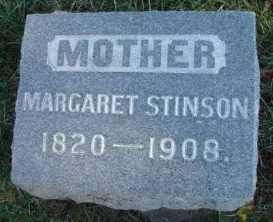 STINSON, MARGARET - Madison County, Iowa | MARGARET STINSON