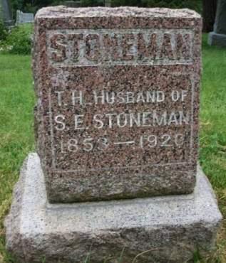 STONEMAN, THEODORE H. - Madison County, Iowa | THEODORE H. STONEMAN