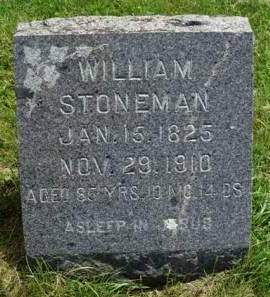 STONEMAN, WILLIAM - Madison County, Iowa | WILLIAM STONEMAN