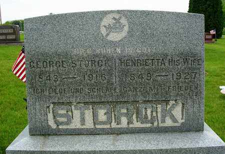 STORCK, GEORGE - Madison County, Iowa | GEORGE STORCK