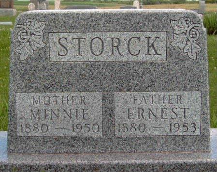 STORCK, MINNIE A. - Madison County, Iowa | MINNIE A. STORCK