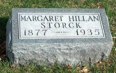 HILLAN STORCK, MARGARET M. - Madison County, Iowa | MARGARET M. HILLAN STORCK