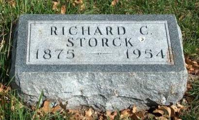 STORCK, RICHARD CARL - Madison County, Iowa   RICHARD CARL STORCK