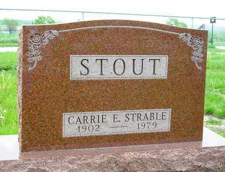 STOUT, CARRIE E. - Madison County, Iowa | CARRIE E. STOUT
