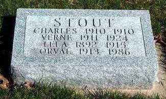 STOUT, LELA M. - Madison County, Iowa | LELA M. STOUT