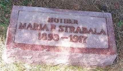 STRABALA, MARIE FREDERICKA JOHANNA - Madison County, Iowa | MARIE FREDERICKA JOHANNA STRABALA