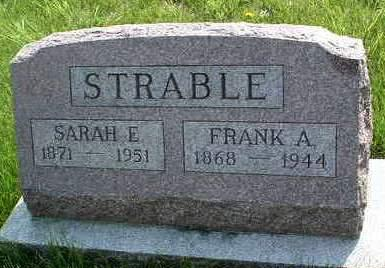 STRABLE, FRANK ALBERT - Madison County, Iowa | FRANK ALBERT STRABLE