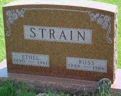 STRAIN, MARY ETHEL - Madison County, Iowa | MARY ETHEL STRAIN