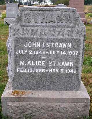 STRAWN, JOHN IRWIN - Madison County, Iowa | JOHN IRWIN STRAWN