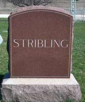 STRIBLING, FAMILY STONE - Madison County, Iowa | FAMILY STONE STRIBLING