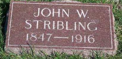 STRIBLING, JOHN WESLEY - Madison County, Iowa | JOHN WESLEY STRIBLING