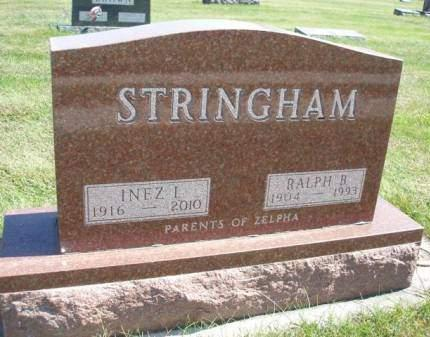 LITTLE STRINGHAM, INEZ IRENE - Madison County, Iowa | INEZ IRENE LITTLE STRINGHAM