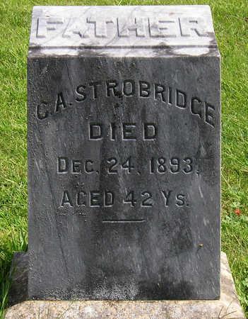 STROBRIDGE, CHARLES A. - Madison County, Iowa | CHARLES A. STROBRIDGE