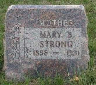 STRONG, MARY BELINDA - Madison County, Iowa | MARY BELINDA STRONG