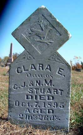 STUART, CLARA E. - Madison County, Iowa   CLARA E. STUART