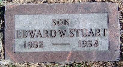 STUART, EDWARD WILLIAM - Madison County, Iowa | EDWARD WILLIAM STUART
