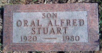 STUART, ORAL ALFRED - Madison County, Iowa | ORAL ALFRED STUART