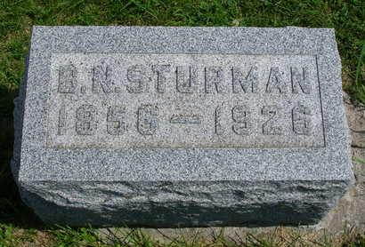 STURMAN, BENJAMIN NEWTON - Madison County, Iowa   BENJAMIN NEWTON STURMAN