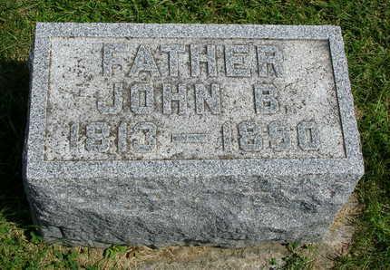 STURMAN, JOHN B. - Madison County, Iowa | JOHN B. STURMAN