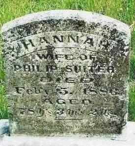 SUITER, HANNAH - Madison County, Iowa | HANNAH SUITER
