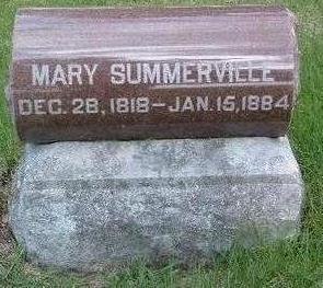 SUMMERVILLE, MARY - Madison County, Iowa | MARY SUMMERVILLE