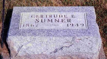 SUMNER, GERTRUDE E. - Madison County, Iowa | GERTRUDE E. SUMNER