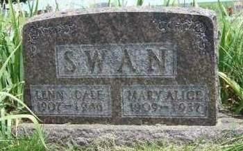 SWAN, MARY ALICE - Madison County, Iowa | MARY ALICE SWAN
