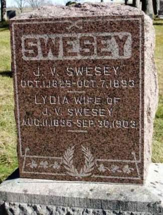 SWESEY, JOHN V. - Madison County, Iowa | JOHN V. SWESEY