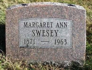 SWESEY, MARGARET ANN - Madison County, Iowa | MARGARET ANN SWESEY